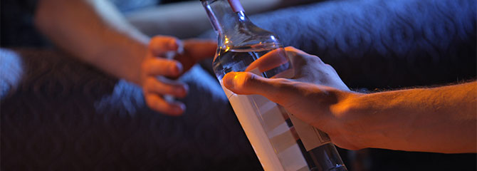 what to do when living with an alcoholic
