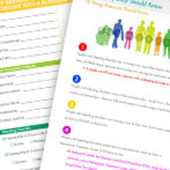 Downloadable Checklists, and Information Materials